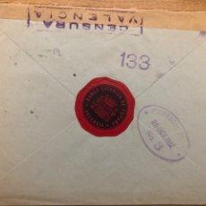 Sellos: VIÑETA BANCO EXTERIOR DE ESPAÑA 1937 VALENCIA. Lote 245426935