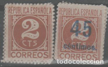 LOTE M-SELLOS GUERRA CIVIL NUEVOS SIN FIJA SELLOS (Sellos - España - Guerra Civil - De 1.936 a 1.939 - Nuevos)
