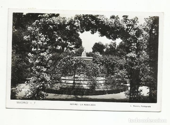 Sellos: postal circulada 1941 del retiro de madrid a berlin alemania con censura nazi - Foto 2 - 245965240