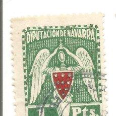 Sellos: DIPUTACIÓN DE NAVARRA. 1 PTS. SELLO MUNICIPAL.. Lote 246009500