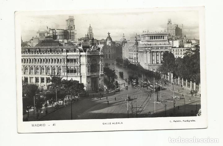 Sellos: postal CALLE ALCALA circulada 1939 de madrid a berlin alemania con censura MILITAR - Foto 2 - 246034580