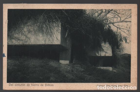 Sellos: POSTAL- NIDO DE AMETRALLADORA OCULTO CONTRA LA AVIACION,- C.M. BILBAO, VER FOTO - Foto 2 - 246215360