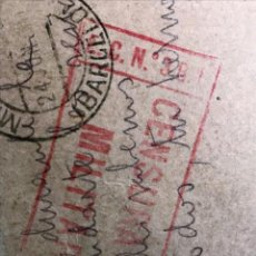 Sellos: MATARO/ TARRAGONA TARJETA POSTAL CON MARCA E.C.Nº.3 B.I. EN ROJO BRIGADAS INTERNACIONALES. Lote 246292670