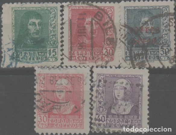 LOTE (25) SELLOS GUERRA CIVIL (Sellos - España - Guerra Civil - De 1.936 a 1.939 - Usados)