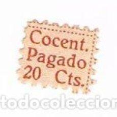Sellos: VIÑETA COCENTAINA, SINDICATO DE PRODUCTOS QUÍMICOS,(GOMA Y PÓLVORA) C.N.T. - A.I.T. - 1938.. Lote 248483975