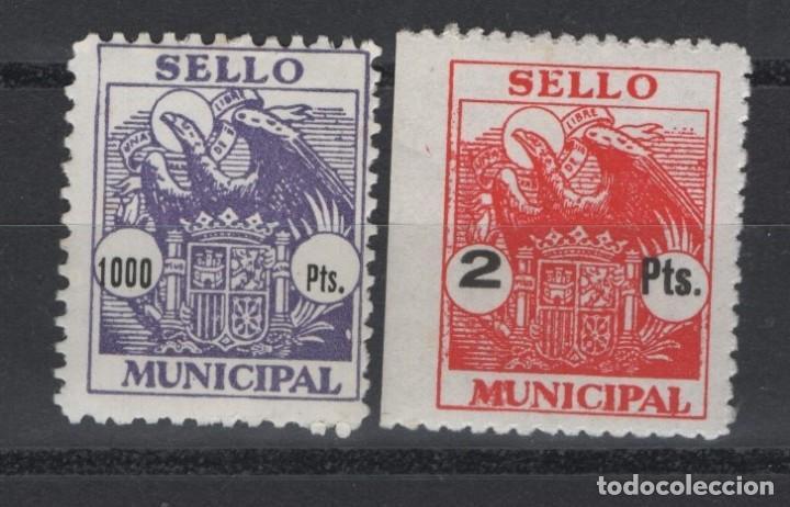 TV_003/ SELLOS DICTADURA FRANQUISTA, NUEVOS MNH**, CON VARIEDAD DENTADO (Sellos - España - Guerra Civil - Locales - Nuevos)