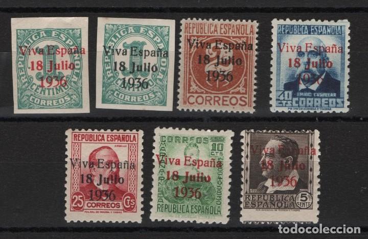 R15/ PATRIOTICOS DE SANTA CRUZ DE TENERIFE (Sellos - España - Guerra Civil - Locales - Nuevos)