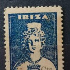 Francobolli: 1936.G,CIVIL, IBIZA.SELLO LOCAL, DIOSA TANIT 5CTS .**.MNH ( 21-185). Lote 251396175