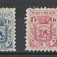 Sellos: ALAVA - VITORIA. EUSKADI. BASQUE COUNTRY. P. VASCO.. Lote 252158865