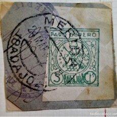 Sellos: GUERRA CIVIL WAR MÉRIDA BADAJOZ EXTREMADURA PARO OBRERO. Lote 252801035