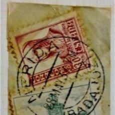 Sellos: GUERRA CIVIL WAR MÉRIDA BADAJOZ EXTREMADURA PRO BADAJOZ. Lote 252854850