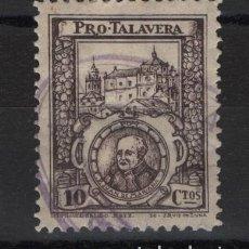 Sellos: TV_003/ PRO TALAVERA - 10 CTS. - GUERRA CIVIL. Lote 253492115