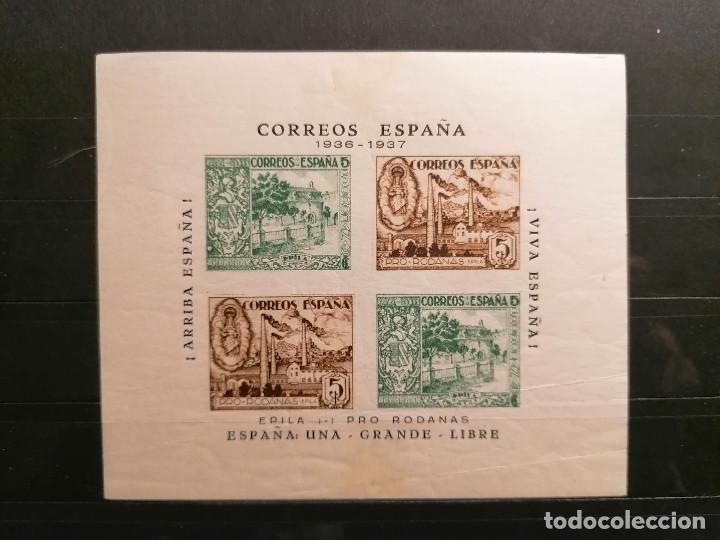 Sellos: España sellos Guerra Civil Población Rodanas Epila Viñetas MHN ** nuevo perfecto - Foto 2 - 253528630