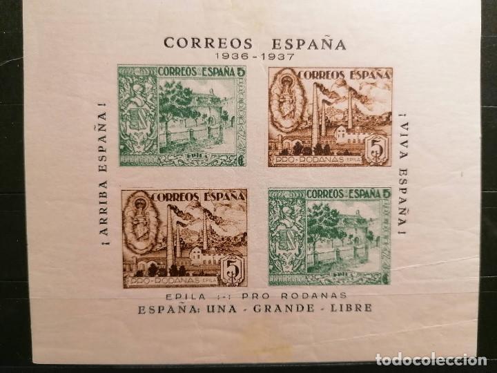Sellos: España sellos Guerra Civil Población Rodanas Epila Viñetas MHN ** nuevo perfecto - Foto 3 - 253528630