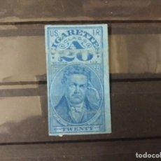 Sellos: USA TABACO CIGARRILLOS SERIE 114.. Lote 253565615