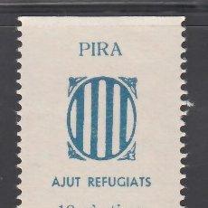 Sellos: AJUT REFUGIATS. PIRA. TARRAGONA, 10 C. AZUL (AL.2). Lote 254627190