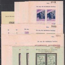 Sellos: EL PI DE LLOBREGAT. BARCELONA, COLECCIÓN DE HOJAS BLOQUE, SELLOS Y VARIEDADES,. Lote 254720980