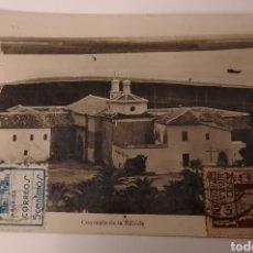 Sellos: HUELVA A BURGOS. CENSURA MILITAR HUELVA, 1937. VIÑETA Y SELLO 1937. Lote 255480095