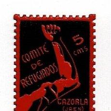 Sellos: GG GUERRA CIVIL CAZORLA FESOFI Nº 4 D. 10.50 SIN FIJASELLOS. Lote 255662840