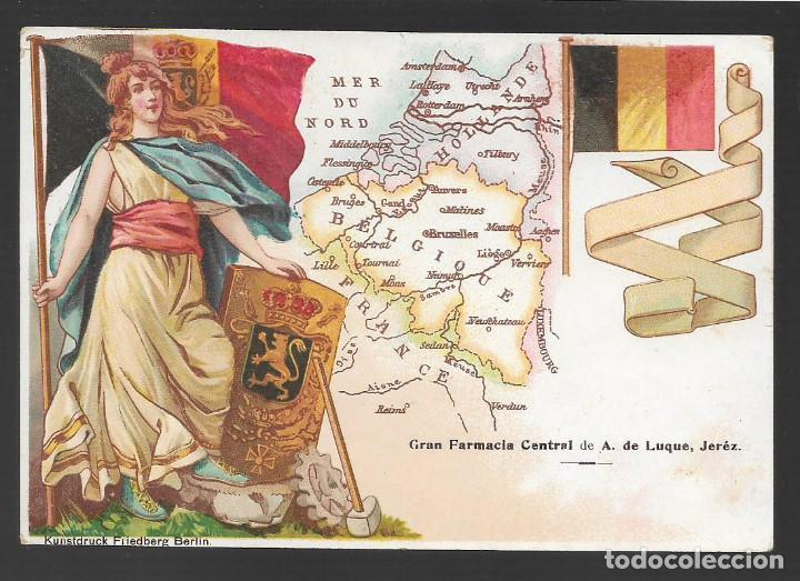 JEREZ- CADIZ-POSTAL.- GRAN FARMACIA CENTRAL DE A.DE LUQUE, VER FOTOS (Sellos - España - Guerra Civil - Locales - Cartas)