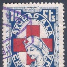Francobolli: AJUDAD A LA CRUZ ROJA1937. 10 CTS.. Lote 257986035