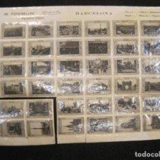 Sellos: BARCELONA-LAMINA CON 36 FOTO SELLOS-AÑO 1929-EDITADO POR ZERKOWITZ-VER FOTOS-(K-2480). Lote 258778765