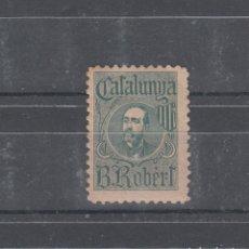 Sellos: CATAALUNYA. B ROBERTS. Lote 260417030