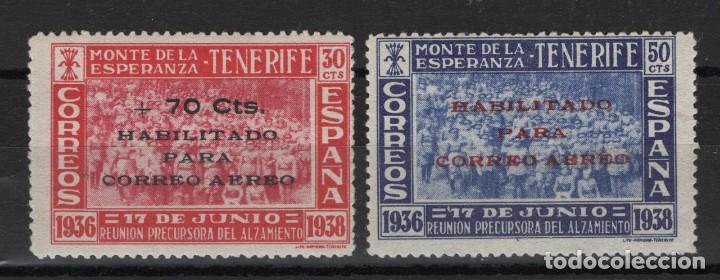TV_003.G14/ MONTE DE LA ESPERANZA, HABILITADO, Nº 56-57 *, VALOR 24,00 € (Sellos - España - Guerra Civil - Beneficencia)