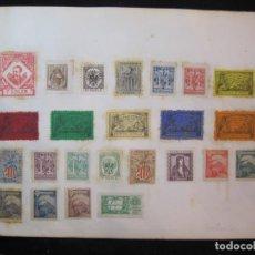 Sellos: COLECCION DE 125 VIÑETAS CATALANISTAS-VER FOTOS-(K-2674). Lote 260897260