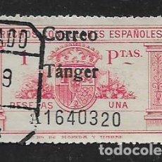 Sellos: TANGER.- DRECHO CONSULAR.- 1 PTAS- CORREO TANGER-- VER FOTO. Lote 261164065