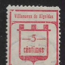 Sellos: GUARVILLA.DE ALGAIDAO-MALAGA- 5 CTS,- CARIDAD- VER FOTO. Lote 261164515