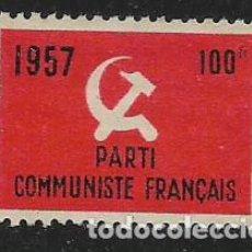 Timbres: VIÑETA, 100FF. P.C. FRANCES- VER FOTO. Lote 261165815