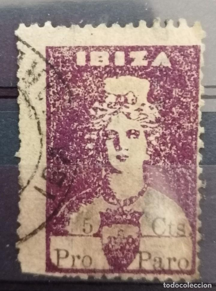 1936.G,CIVILIBIZA. DIOSA TANIT, 5 CTS .*.MH ( 21-408) (Sellos - España - Guerra Civil - Locales - Nuevos)