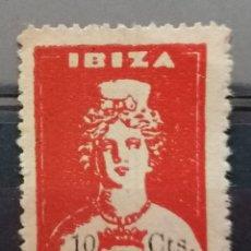 Francobolli: 1936.G,CIVIL .IBIZA . DIOSA TANIT.10 CTS , **.MNH ( 21-415). Lote 261261410