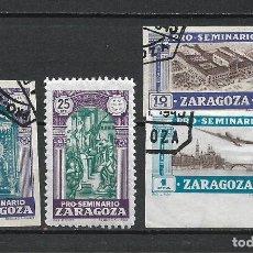 Sellos: PRO-SEMINARIO ZARAGOZA - 1/29. Lote 261281560
