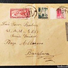 Francobolli: GUERRA CIVIL CARTA BRIGADAS INTERNACIONALES 41 AM SRI PLAZA ALTOZANO E .C BRIGADAS MÓVIL 1938. Lote 261599130