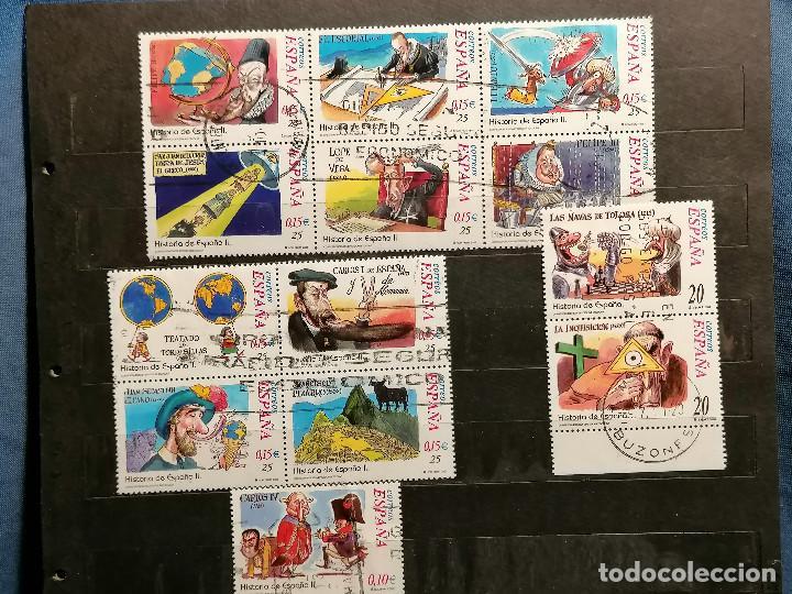 ESPAÑA SERIES HISTORIA ESPAÑA AÑOS 2000/2 USADOS (Sellos - España - Guerra Civil - Locales - Nuevos)