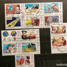 Sellos: ESPAÑA SERIES HISTORIA ESPAÑA AÑOS 2000/2 USADOS. Lote 261645740