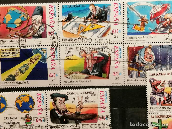 Sellos: España series Historia España años 2000/2 usados - Foto 3 - 261645740