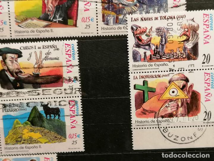 Sellos: España series Historia España años 2000/2 usados - Foto 5 - 261645740