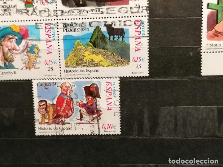 Sellos: España series Historia España años 2000/2 usados - Foto 6 - 261645740
