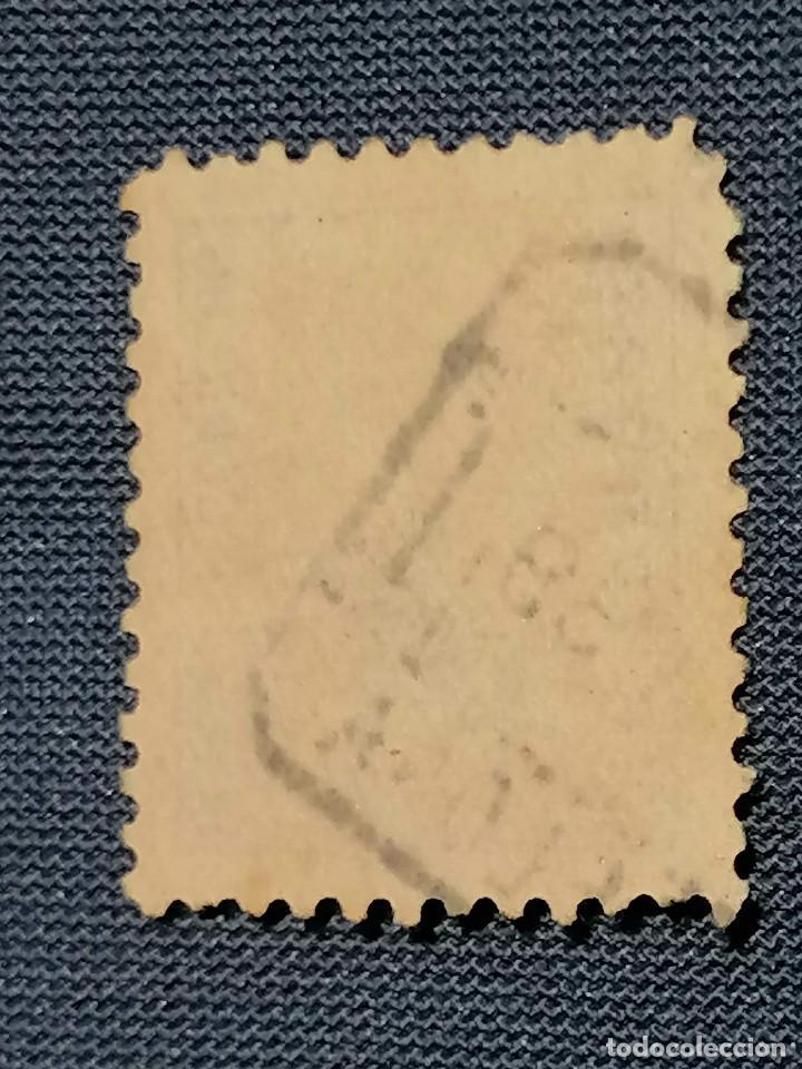 Sellos: España Sello CID 10 pesetas Edifil 831 usado sello muy Escaso Centraje De Lujo - Foto 5 - 261726475