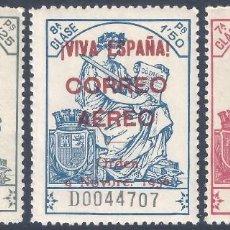 Sellos: EMISIONES LOCALES PATRIÓTICAS, BURGOS 1936. EDIFIL 20-22. VALOR CATÁLOGO ESPECIALIZADO: 66 €. MNH **. Lote 262232665