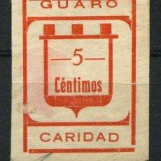 Sellos: ESPAÑA. GUERRA CIVIL. GUARO (MÁLAGA). EDIFIL 2S. NO RESEÑADO.. Lote 262378120