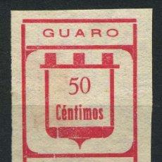 Sellos: ESPAÑA. GUERRA CIVIL. GUARO (MÁLAGA). EDIFIL 10. Lote 262381745