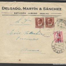 Sellos: CARTA CIRCULADA DE JABUGO A ARACENA.- --PROCURADOR- VER FOTOS. Lote 263583795