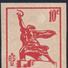 Francobolli: HOMENATGE A LA URSS 1937. SIN DENTAR. MNG.. Lote 263703950