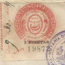 Francobolli: ILUSTRE COLEGIO NOTARIAL DE LA CORUÑA 1941. Lote 264295820
