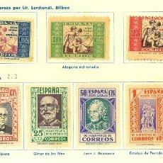 Francobolli: ESPAÑA BENEFICENCIA. Lote 264725949