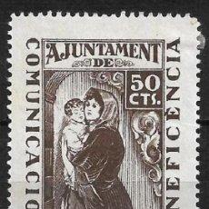 Timbres: ESPAÑA GUERRA CIVIL - PRATS DE LLUCANES 50 CTS. * - 1/60. Lote 266266098